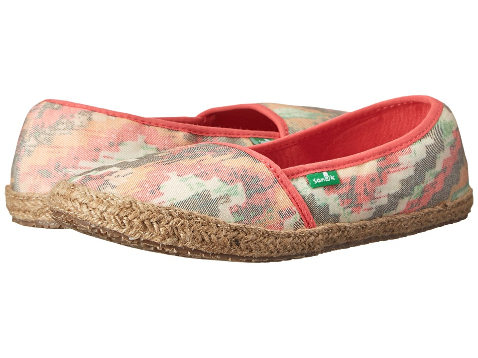 Sanuk Mya (Orange/Multi) Women