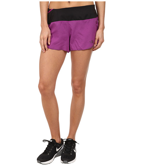 The North Face - Better Than Naked Split Short 3.5 (Magic Magenta/TNF Black) Women