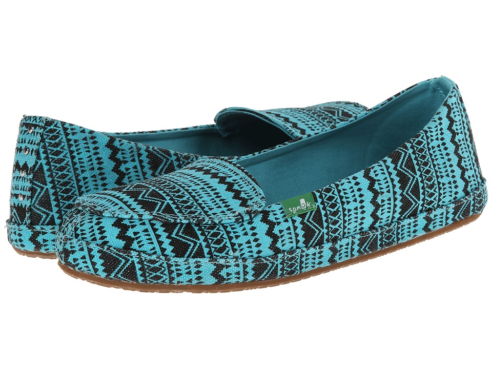 Sanuk - Mirage (Aqua/Tribal) Women