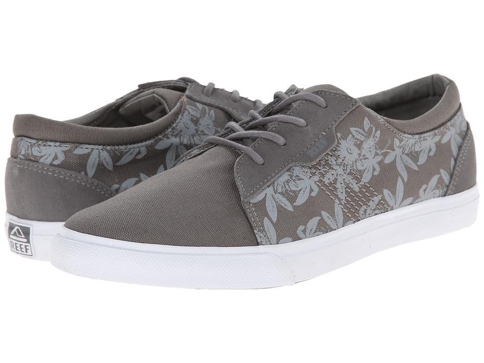 Reef - Ridge Prints (Grey Floral) Men's Lace up casual Shoes