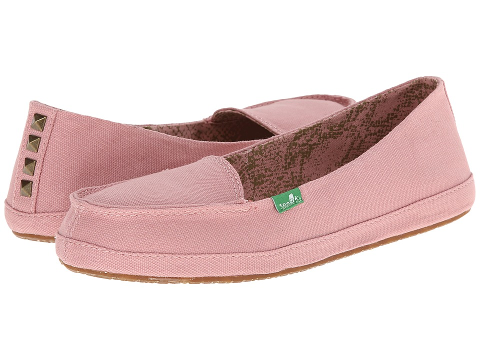 Sanuk - Tailspin (Rose) Women's Slip on Shoes