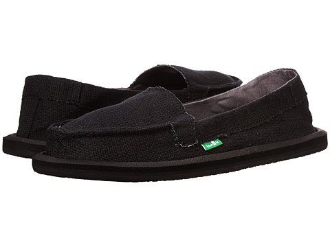 Sanuk - Misty (Black) Women's Slip on Shoes