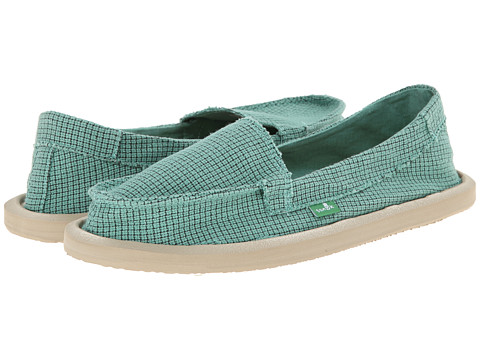 Sanuk - Misty (Teal) Women's Slip on Shoes