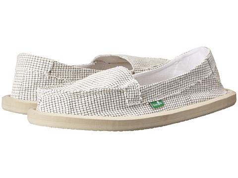Sanuk - Misty (White) Women's Slip on Shoes