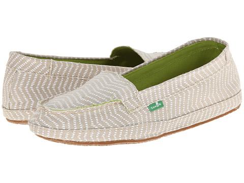 Sanuk - Izabella (Natural) Women's Slip on Shoes
