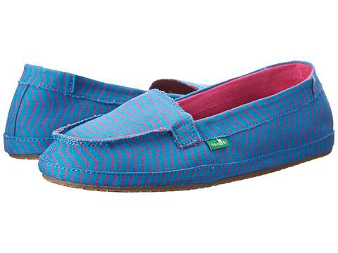 Sanuk - Izabella (Ocean) Women's Slip on Shoes