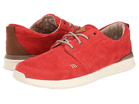 Reef - Rover Low Premium (Red) Men's Lace up casual Shoes
