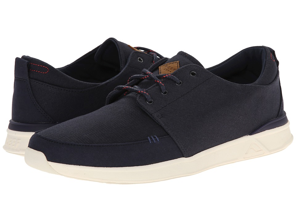 Reef - Rover Low (Navy) Men's Lace up casual Shoes