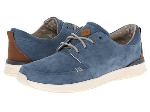 Reef - Rover Low Premium (Marine Blue) Men's Lace up casual Shoes