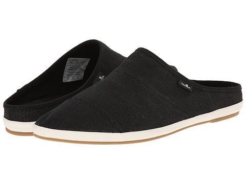 Sanuk - Kat Nip (Black) Women's Slip on Shoes