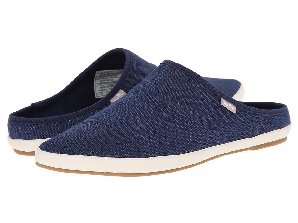 Sanuk - Kat Nip (Indigo) Women's Slip on Shoes