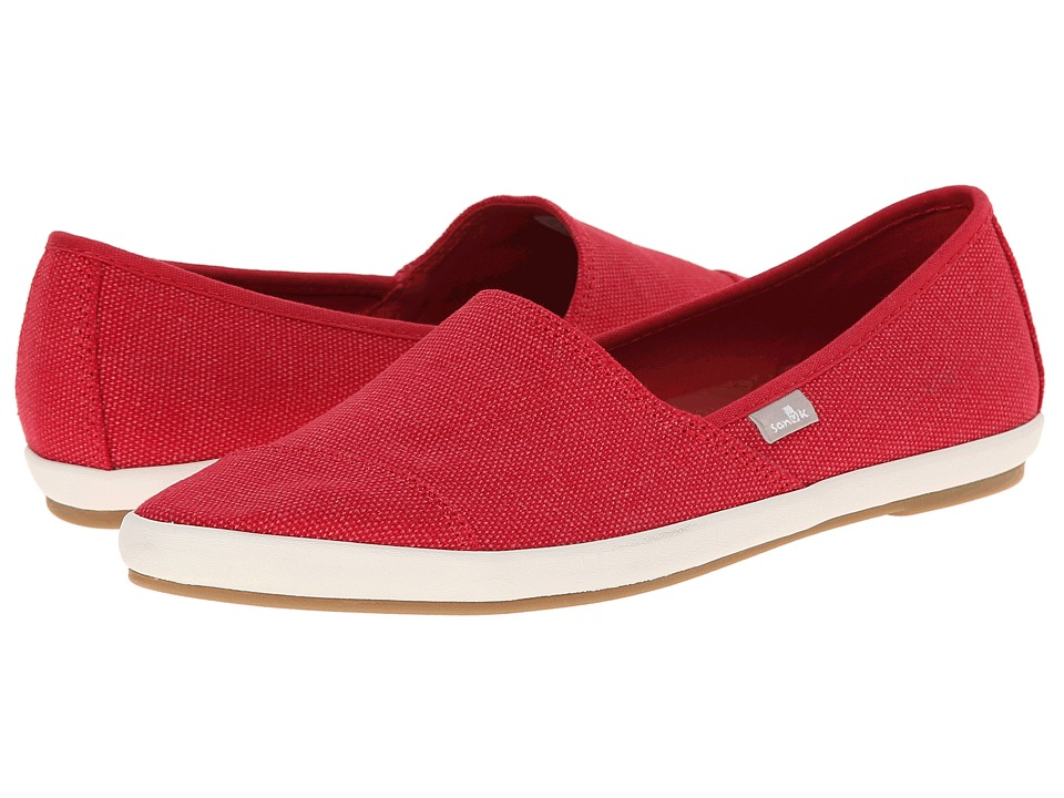Sanuk - Kats Meow (Red) Women