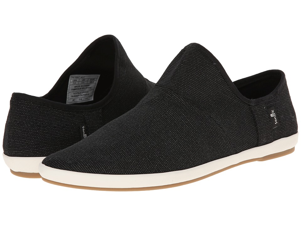 Sanuk - Katlash (Black) Women's Slip on Shoes