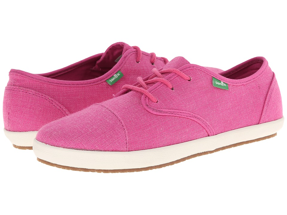 Sanuk - Mollie (Dusty Berry) Women's Lace up casual Shoes