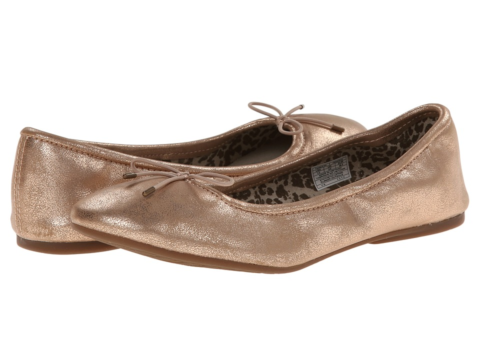 Sanuk - Yoga Ballet (Rose Gold) Women's Flat Shoes