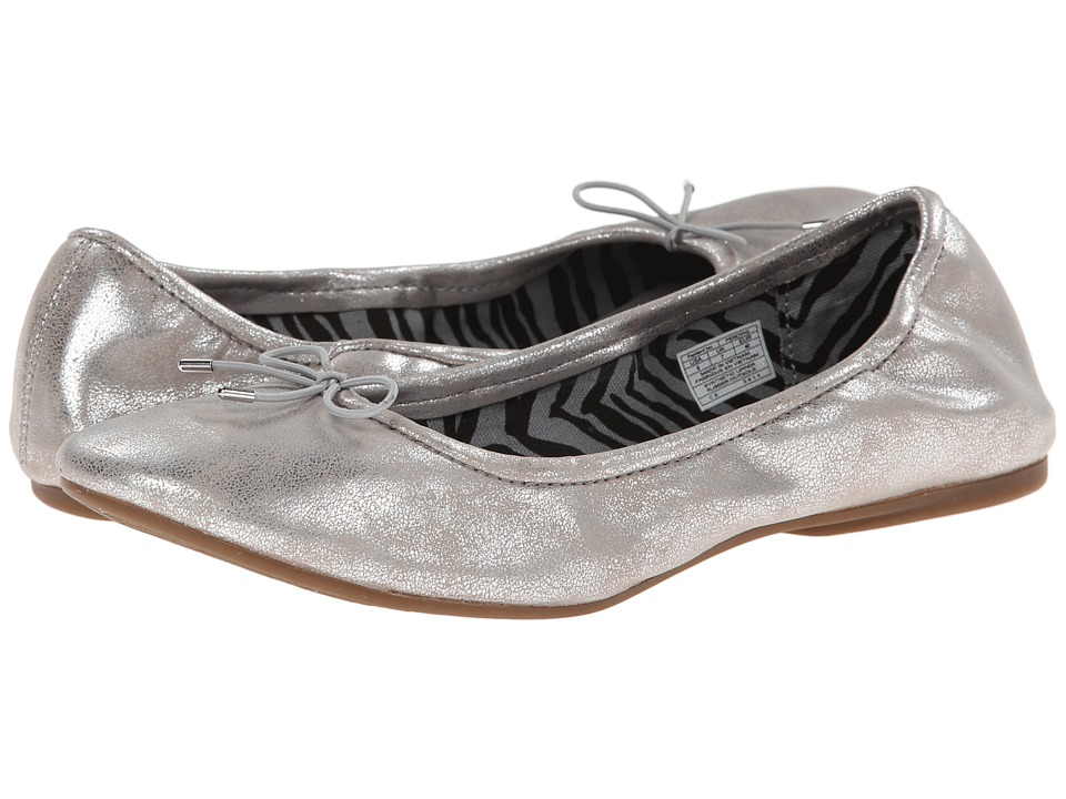 Sanuk - Yoga Ballet (Silver) Women's Flat Shoes