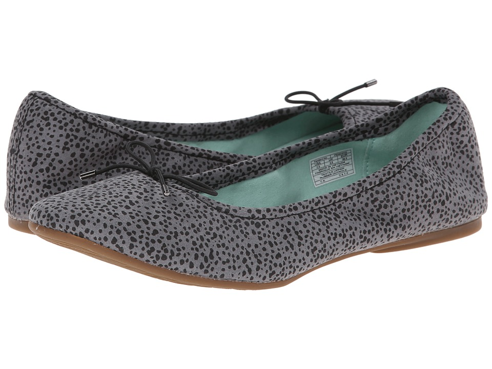 Sanuk - Yoga Prima (Grey/Animal Dot) Women's Flat Shoes
