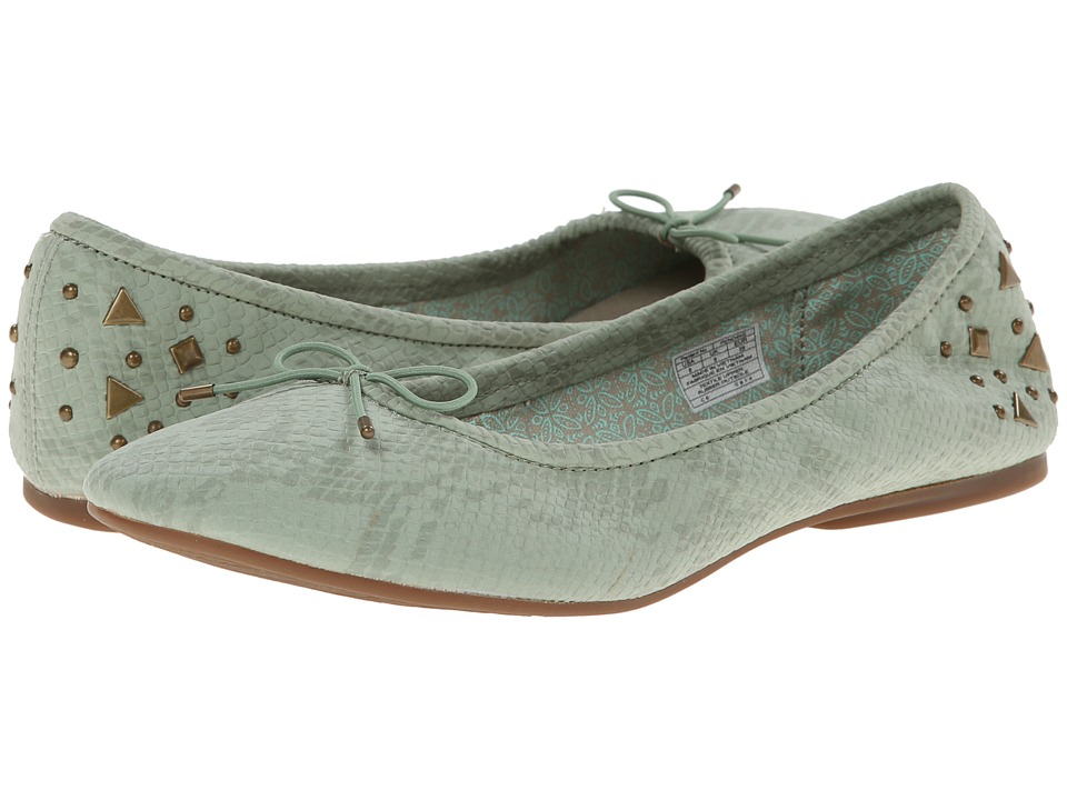 Sanuk Yoga Glitz (Mint Snake) Women