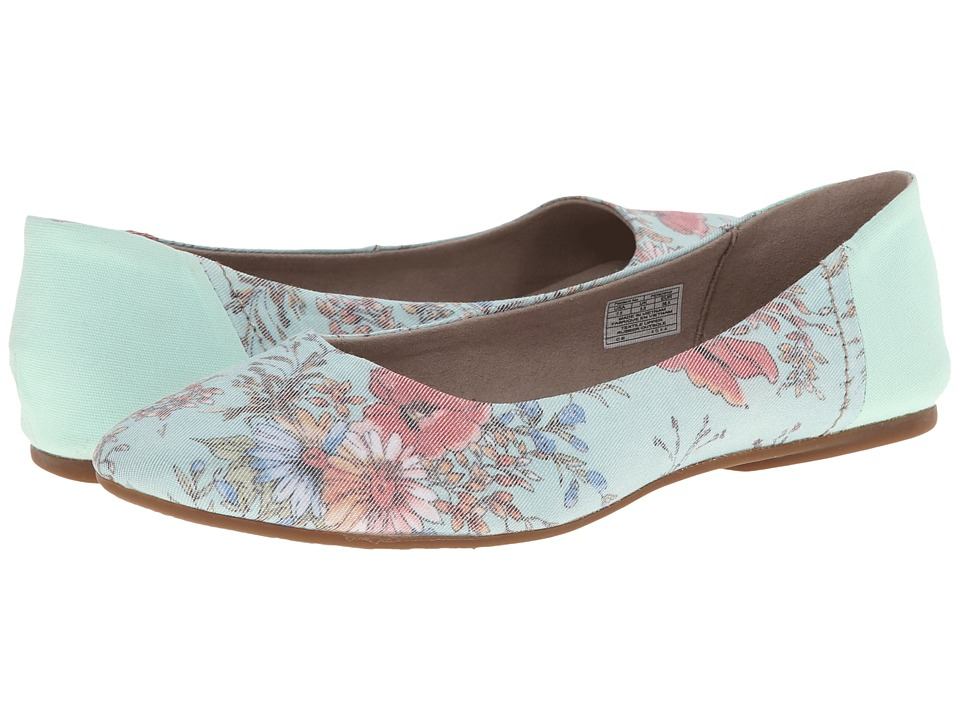 Sanuk - Yoga Eden (Mint/Floral) Women