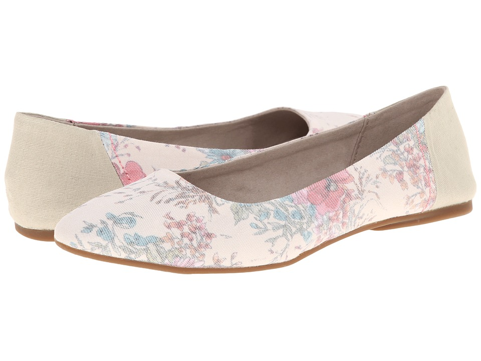 Sanuk - Yoga Eden (Natural/Floral) Women's Flat Shoes