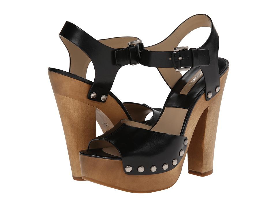 Michael Kors - Annabell (Black Dull Silver Vachetta) High Heels