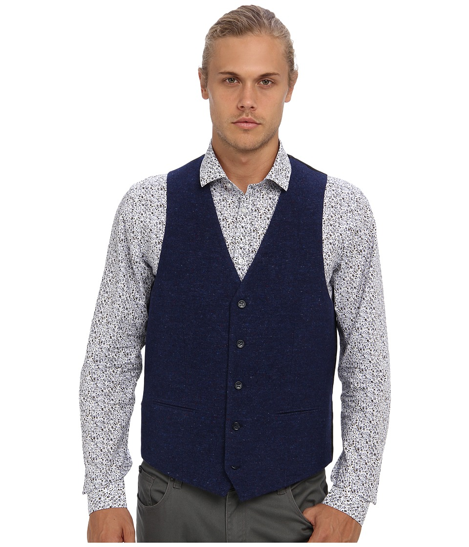 Moods of Norway - Stein Victor Suit Vest 143641 (Evening Blue) Men's Jacket