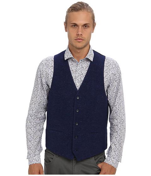 Moods of Norway - Stein Victor Suit Vest 143641 (Evening Blue) Men's Jacket