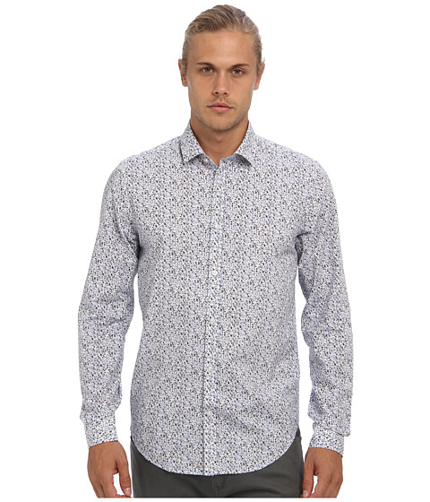 Moods of Norway - Arne Vik Shirt 143435 (White) Men's Long Sleeve Button Up