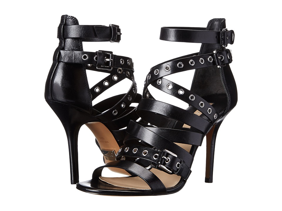 Michael Kors Cecilia (Black Dull Silver Vachetta) High Heels
