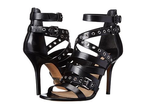 Michael Kors - Cecilia (Black Dull Silver Vachetta) High Heels