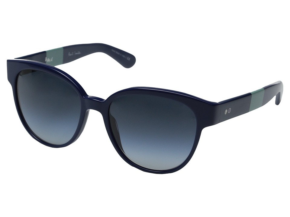 Paul Smith - Roslin - Size 56 (Navy/Pacific Gradient) Fashion Sunglasses