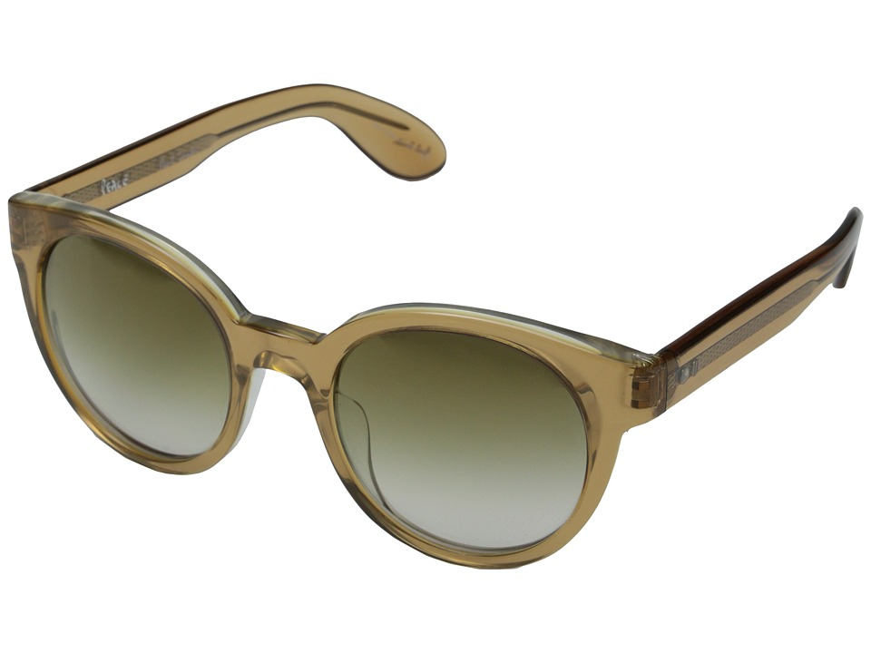Paul Smith - Palmer - Size 52 (Safari Crystal/Bronze Flash Mirror) Fashion Sunglasses