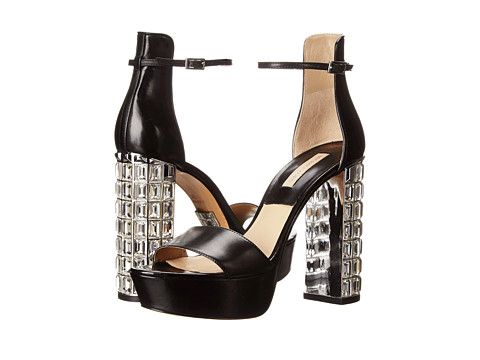 Michael Kors - Nikki (Black Palladium Smooth Calf) High Heels