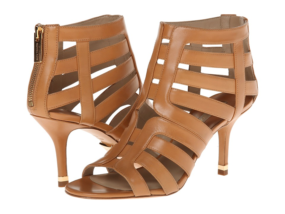Michael Kors Susie (Suntan 18K Smooth Calf) High Heels