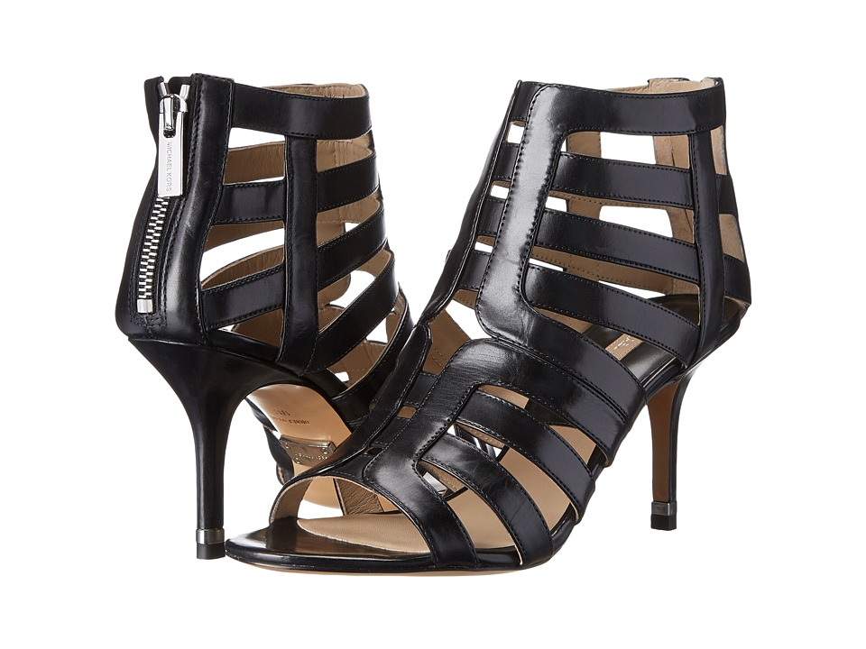 Michael Kors - Susie (Black Palladium Smooth Calf) High Heels