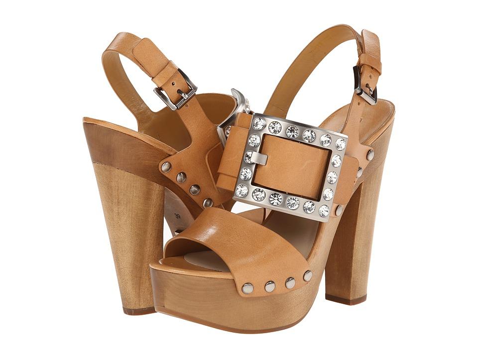 Michael Kors - Alena Runway (Peanut Dull Silver Vachetta) High Heels