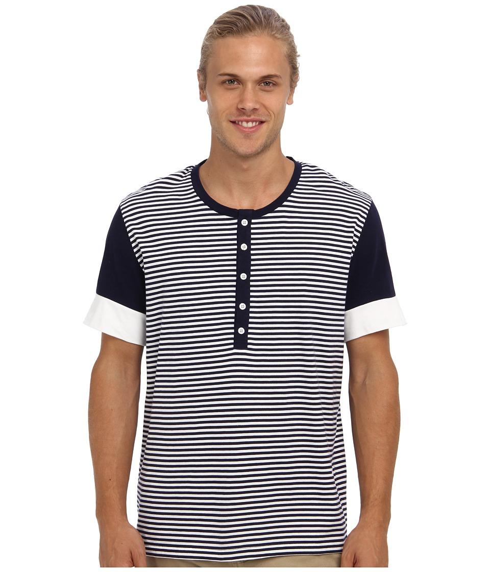 Moods of Norway - Baard Lind T-Shirt 143358 (Evening Blue) Men's Short Sleeve Pullover
