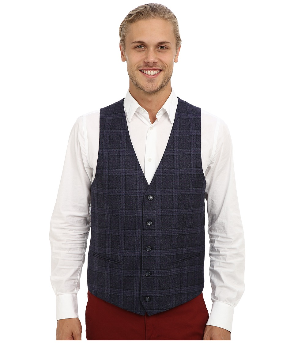 Moods of Norway - Rolf Victor Suit Vest 143471 (Dark Purple) Men's Vest