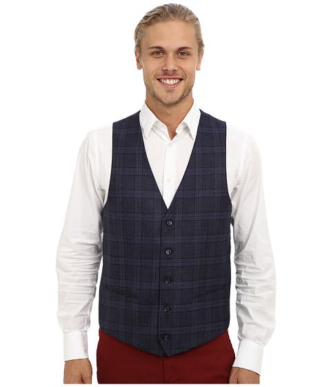 Moods of Norway - Rolf Victor Suit Vest 143471 (Dark Purple) Men's Vest