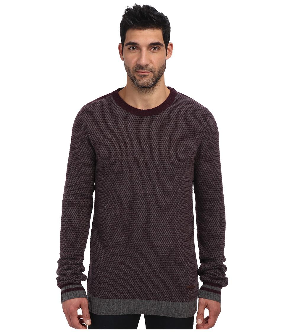 Moods of Norway - Erik Loen Sweater 143206 (Burgundy) Men's Sweater