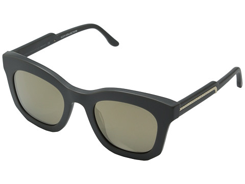 Stella McCartney - SM4051 (Matte Grey/Light Brown Gold Mirror) Fashion Sunglasses