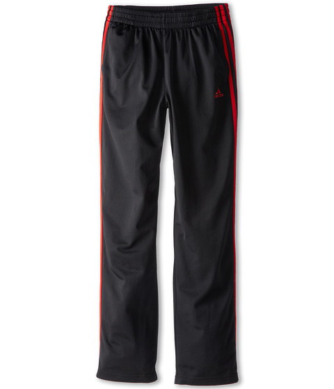 adidas Kids - Designator Pant (Little Kids/Big Kids) (Black/Scarlet) Boy