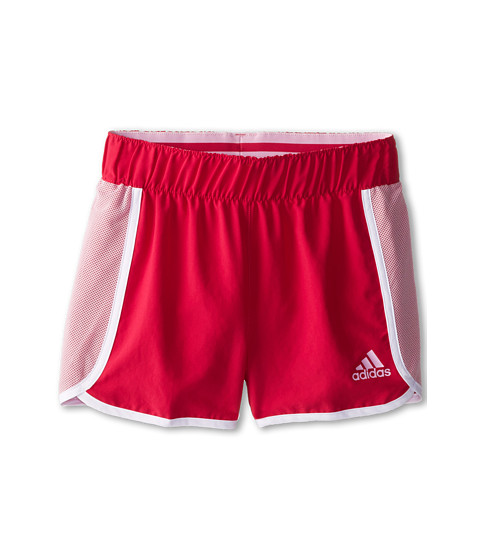 adidas Kids - Player Short (Big Kids) (Bold Pink/Frost Pink) Girl