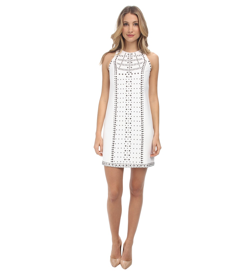 Versace Collection - Beaded Shift Dress (Bianco) Women's Dress