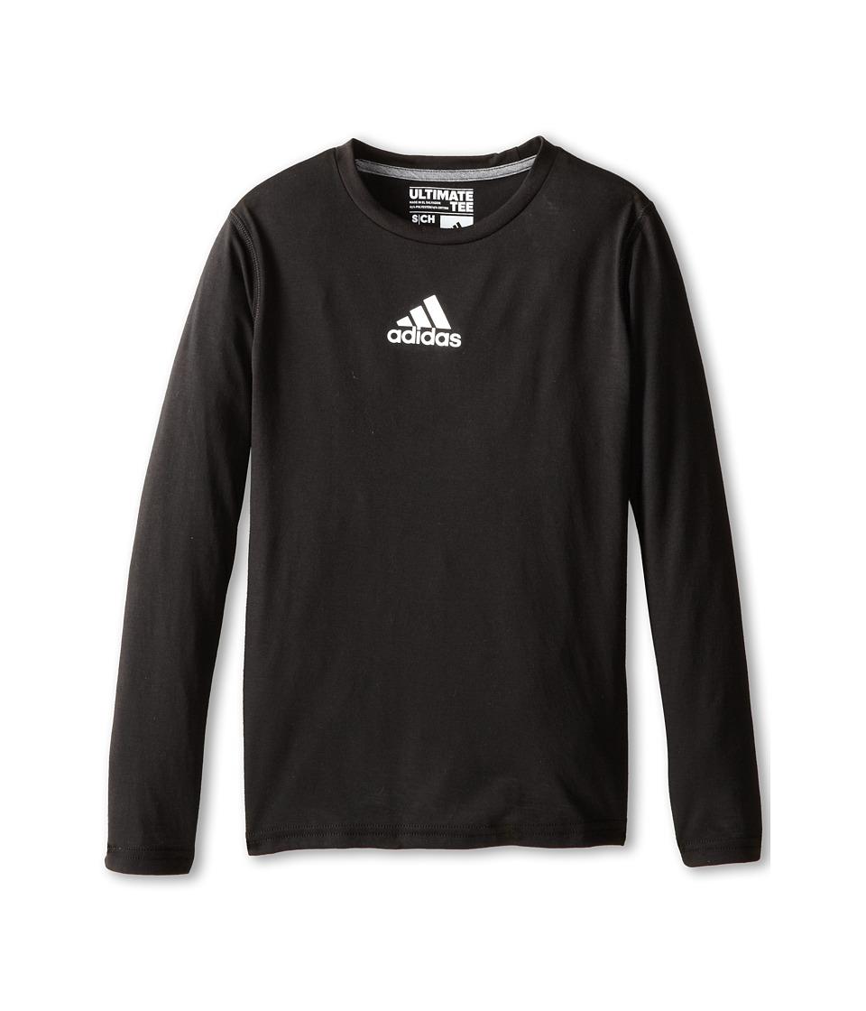 adidas Kids - Ultimate L/S Tee (Little Kids/Big Kids) (Black) Boy's T Shirt