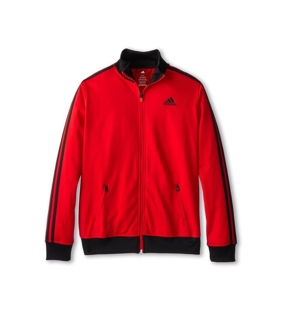 adidas Kids - Separates Training Track Jacket (Big Kids) (Scarlet/Black) Boy