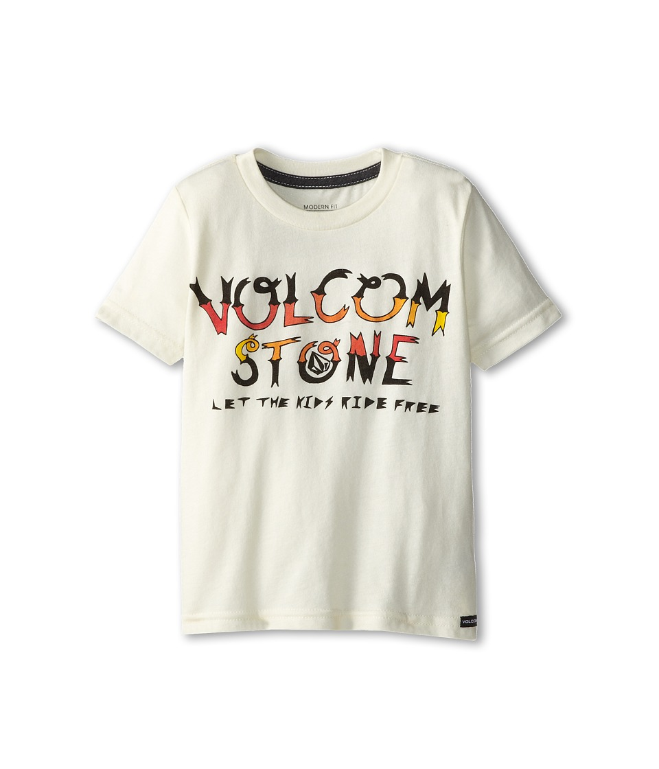 Volcom Kids - Can Ham S/S Tee (Toddler/Little Kids) (Old Grey Heather) Boy's T Shirt