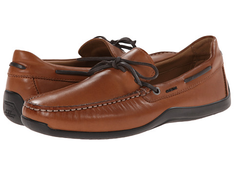 Geox - U Xense Mox 4 (Cognac) Men's Slip on Shoes