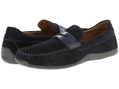 Geox - U Xense Mox 3 (Navy) Men's Slip on Shoes