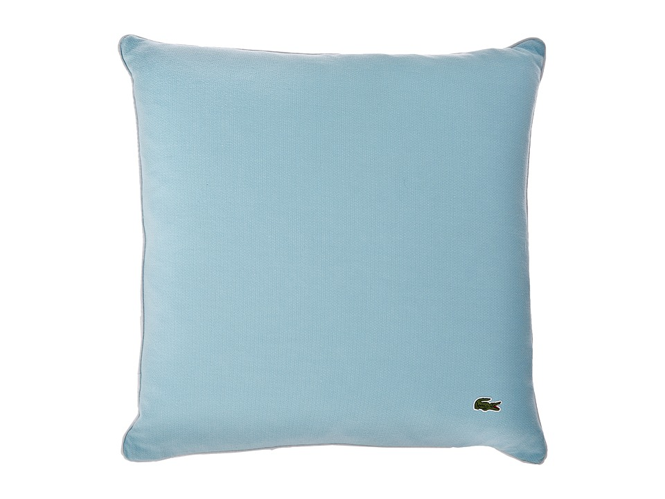 Lacoste - Jersey Caviar Pillow (Stratosphere) Sheets Bedding